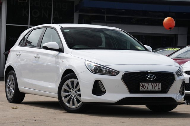 Demonstrator, Demo, Near New Hyundai i30 Go, Beaudesert, 2018 Hyundai i30 Go Hatchback