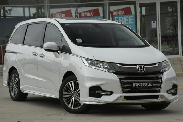 Discounted Demonstrator, Demo, Near New Honda Odyssey VTi-L, Southport, 2018 Honda Odyssey VTi-L Wagon