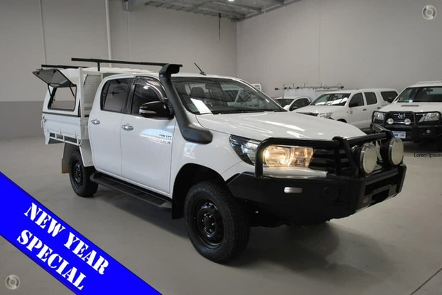 Used Toyota Hilux SR Double Cab, Kenwick, 2015 Toyota Hilux SR Double Cab Cab Chassis