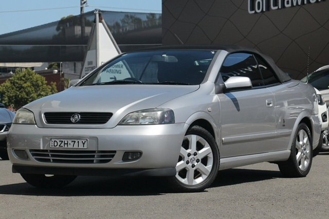 Used Holden Astra Convertible, Brookvale, 2002 Holden Astra Convertible Convertible