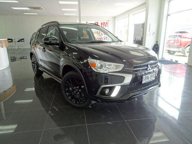 Discounted Demonstrator, Demo, Near New Mitsubishi ASX Black Edition 2WD, Cheltenham, 2018 Mitsubishi ASX Black Edition 2WD Wagon