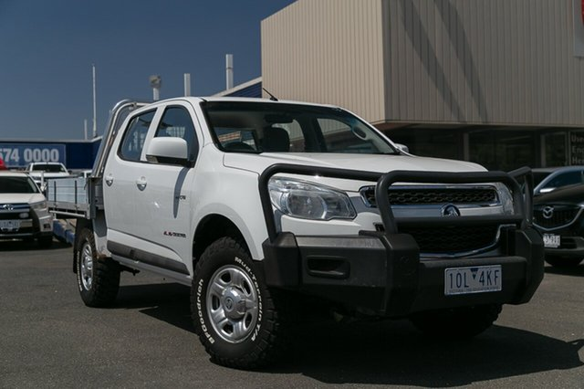 Used Holden Colorado LX (4x4), Oakleigh, 2014 Holden Colorado LX (4x4) RG MY14 Crew Cab Chassis