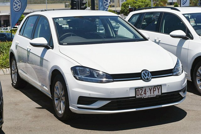 Demonstrator, Demo, Near New Volkswagen Golf 110 TSI Trendline, Southport, 2018 Volkswagen Golf 110 TSI Trendline Hatchback