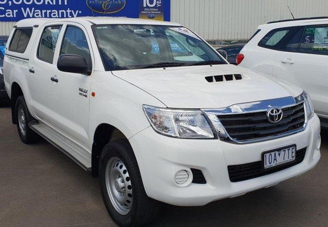 Used Toyota Hilux SR (4x4), Sebastopol, 2014 Toyota Hilux SR (4x4) Dual Cab Pick-up