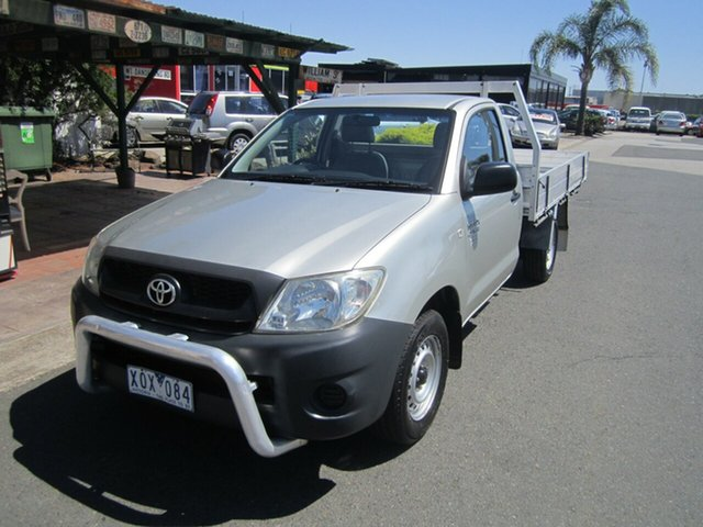 Used Toyota Hilux Workmate 4x2, Cheltenham, 2010 Toyota Hilux Workmate 4x2 Cab Chassis