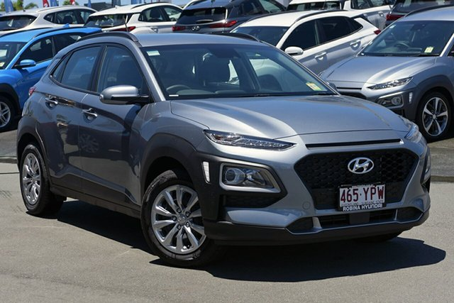 Demonstrator, Demo, Near New Hyundai Kona Go 2WD, Southport, 2018 Hyundai Kona Go 2WD Wagon