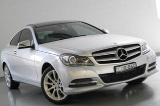 2013 Mercedes-Benz C180 7G-Tronic + Coupe.