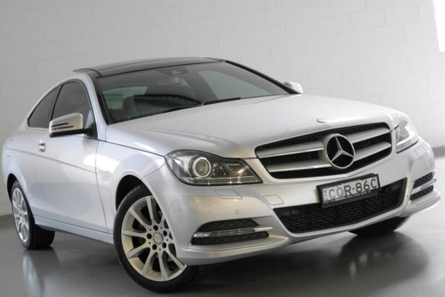 Used Mercedes-Benz C180 7G-Tronic +, Warwick Farm, 2013 Mercedes-Benz C180 7G-Tronic + Coupe