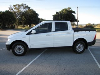 2009 Ssangyong Actyon Sports Tradie 4x2 Utility.