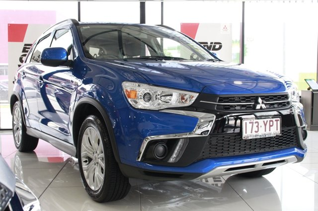 Demonstrator, Demo, Near New Mitsubishi ASX ES 2WD, Bowen Hills, 2018 Mitsubishi ASX ES 2WD Wagon