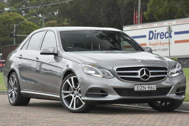 Discounted Used Mercedes-Benz E200 7G-Tronic +, Warwick Farm, 2015 Mercedes-Benz E200 7G-Tronic + Sedan