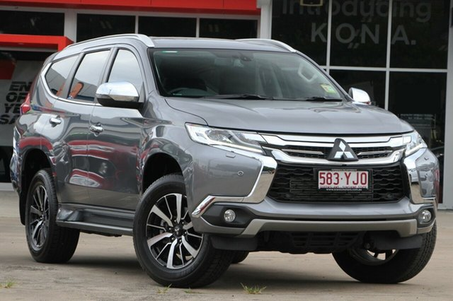 Demonstrator, Demo, Near New Mitsubishi Pajero Sport Exceed, Beaudesert, 2018 Mitsubishi Pajero Sport Exceed Wagon