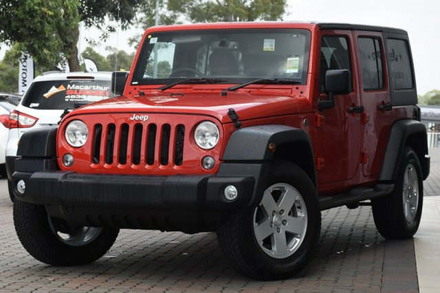 Discounted New Jeep Wrangler Unlimited Sport, Narellan, 2018 Jeep Wrangler Unlimited Sport SUV