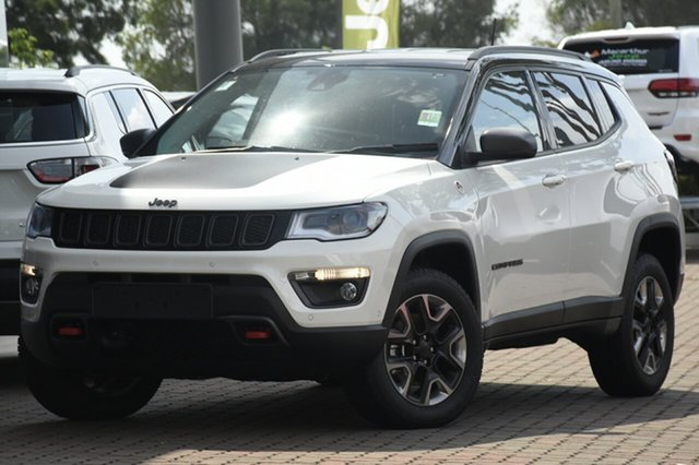 Discounted Demonstrator, Demo, Near New Jeep Compass Trailhawk, Warwick Farm, 2018 Jeep Compass Trailhawk SUV