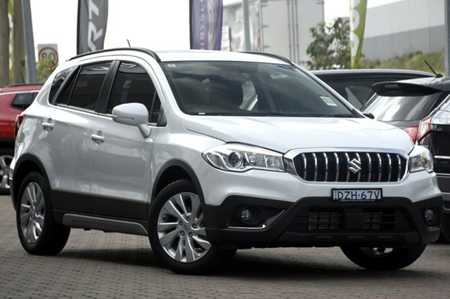 Discounted Demonstrator, Demo, Near New Suzuki S-Cross Turbo, Narellan, 2018 Suzuki S-Cross Turbo SUV