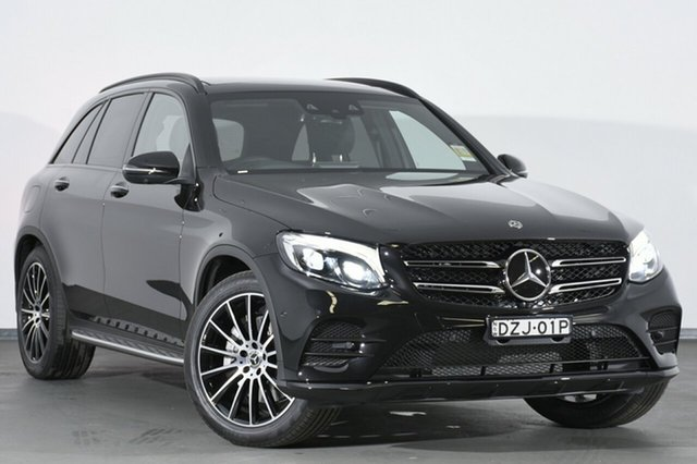 Demonstrator, Demo, Near New Mercedes-Benz GLC250 d 9G-TRONIC 4MATIC, Warwick Farm, 2018 Mercedes-Benz GLC250 d 9G-TRONIC 4MATIC SUV