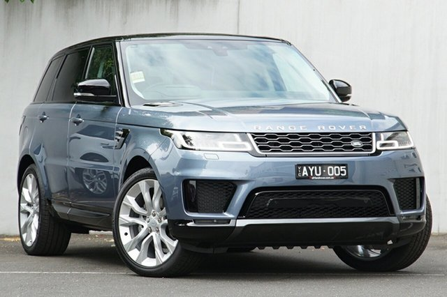 Demonstrator, Demo, Near New Land Rover Range Rover Sport SDV6 CommandShift HSE, Malvern, 2018 Land Rover Range Rover Sport SDV6 CommandShift HSE Wagon