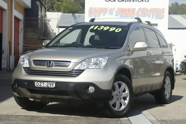 Used Honda CR-V Luxury 4WD, Brookvale, 2007 Honda CR-V Luxury 4WD Wagon