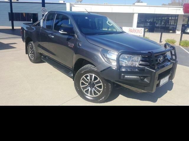 Used Toyota Hilux SR (4x4), Wangaratta, 2016 Toyota Hilux SR (4x4) X Cab Utility
