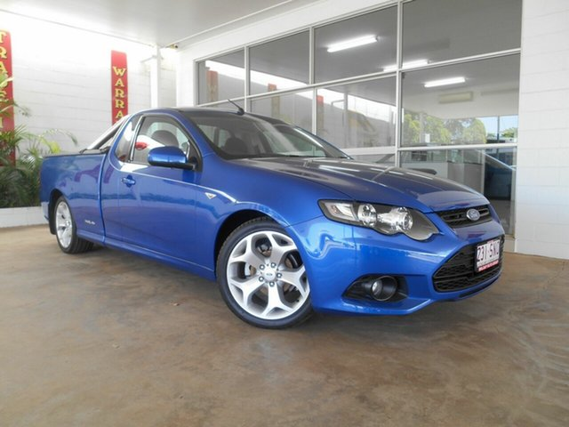 Used Ford Falcon XR6, Mount Isa, 2012 Ford Falcon XR6 FG MkII Utility