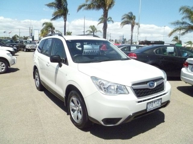 Used Subaru Forester 2.5i Lineartronic AWD, Cheltenham, 2013 Subaru Forester 2.5i Lineartronic AWD Wagon