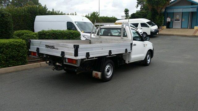 Used Toyota Hilux Workmate 4x2, Acacia Ridge, 2013 Toyota Hilux Workmate 4x2 TGN16R MY12 Cab Chassis