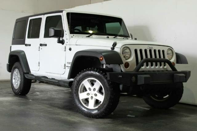Used Jeep Wrangler Unlimited Sport, Underwood, 2010 Jeep Wrangler Unlimited Sport Softtop