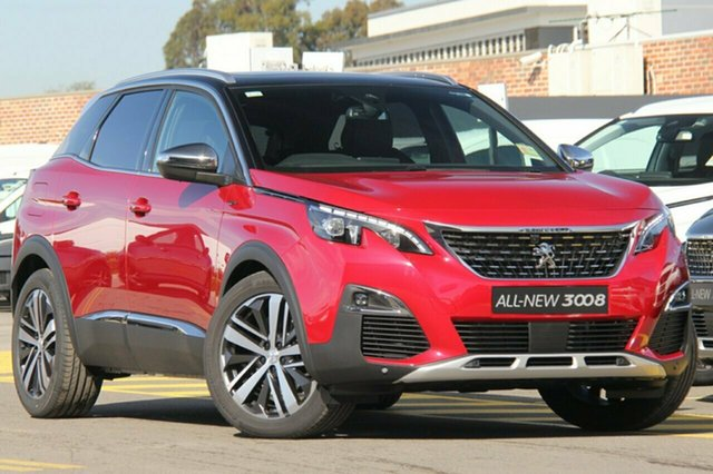Discounted New Peugeot 3008 GT SUV, Narellan, 2018 Peugeot 3008 GT SUV SUV