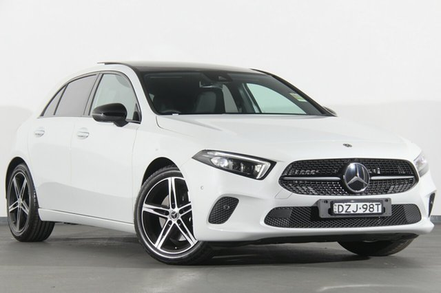 Demonstrator, Demo, Near New Mercedes-Benz A250 Limited Edition D-CT 4MATIC, Warwick Farm, 2018 Mercedes-Benz A250 Limited Edition D-CT 4MATIC Hatchback