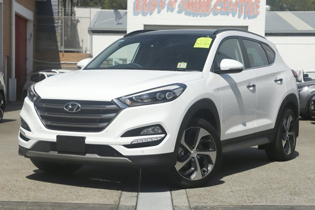 Demonstrator, Demo, Near New Hyundai Tucson Highlander D-CT AWD, Brookvale, 2018 Hyundai Tucson Highlander D-CT AWD Wagon