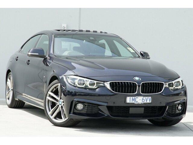 Demonstrator, Demo, Near New BMW 420i M Sport Gran Coupe, Clayton, 2018 BMW 420i M Sport Gran Coupe Hatchback
