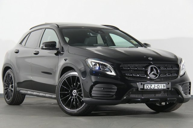 Demonstrator, Demo, Near New Mercedes-Benz GLA180 DCT, Warwick Farm, 2018 Mercedes-Benz GLA180 DCT SUV