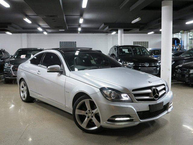 Used Mercedes-Benz C250 CDI BlueEFFICIENCY 7G-Tronic, Albion, 2011 Mercedes-Benz C250 CDI BlueEFFICIENCY 7G-Tronic Coupe