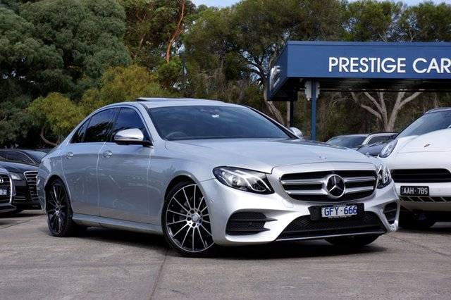 Used Mercedes-Benz E200 9G-Tronic PLUS, Balwyn, 2016 Mercedes-Benz E200 9G-Tronic PLUS Sedan