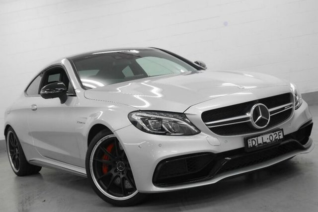Used Mercedes-Benz C63 AMG SPEEDSHIFT MCT S, Warwick Farm, 2016 Mercedes-Benz C63 AMG SPEEDSHIFT MCT S Coupe
