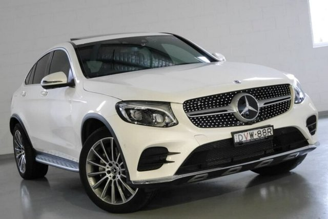 Used Mercedes-Benz GLC250 d Coupe 9G-Tronic 4MATIC, Southport, 2018 Mercedes-Benz GLC250 d Coupe 9G-Tronic 4MATIC Wagon