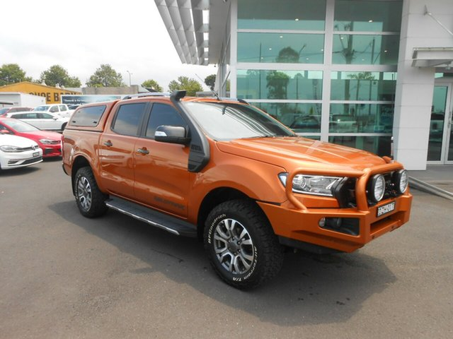 Used Ford Ranger Wildtrak Double Cab, Nowra, 2015 Ford Ranger Wildtrak Double Cab Utility