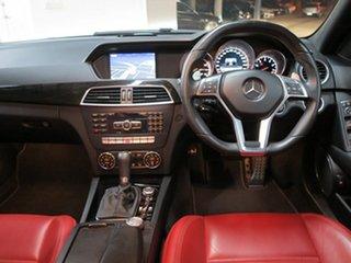 2013 Mercedes-Benz C63 AMG SPEEDSHIFT MCT Sedan.