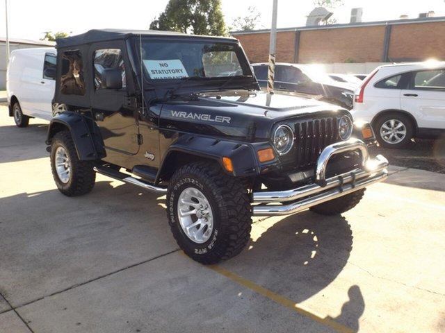 Used Jeep Wrangler Sport, Toowoomba, 2003 Jeep Wrangler Sport Softtop
