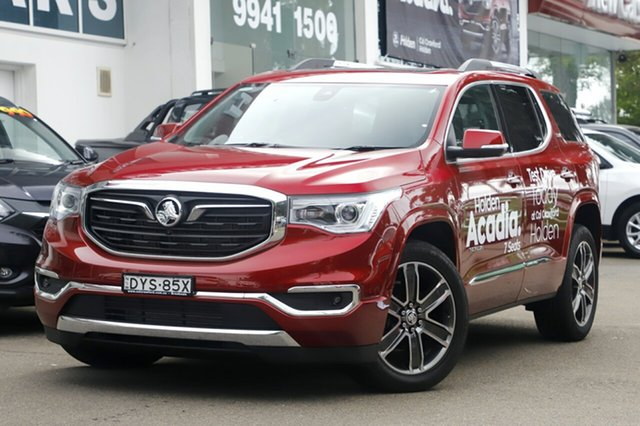 Demonstrator, Demo, Near New Holden Acadia LTZ-V AWD, Brookvale, 2018 Holden Acadia LTZ-V AWD Wagon
