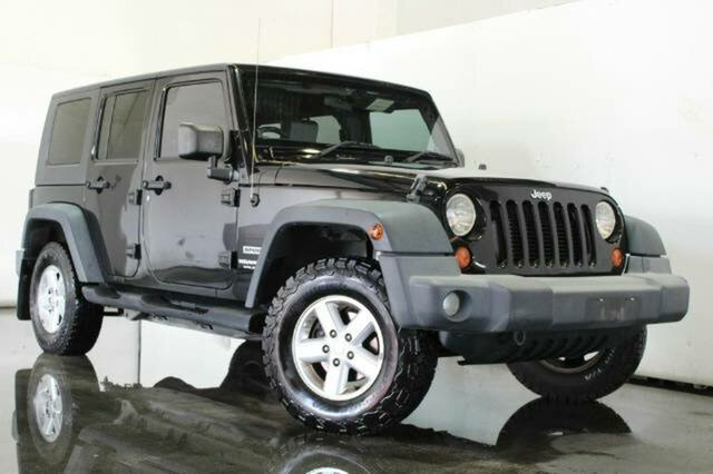 Used Jeep Wrangler Unlimited Sport, Underwood, 2007 Jeep Wrangler Unlimited Sport Softtop