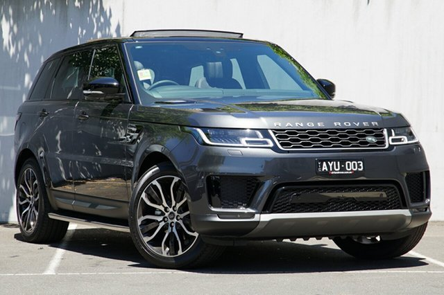 Demonstrator, Demo, Near New Land Rover Range Rover Sport SDV6 183kW CommandShift SE, Malvern, 2018 Land Rover Range Rover Sport SDV6 183kW CommandShift SE Wagon
