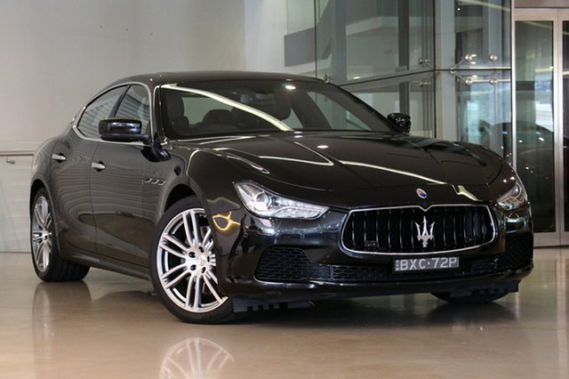Used Maserati Ghibli S, Waterloo, 2016 Maserati Ghibli S Sedan