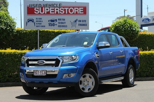 Used Ford Ranger XLT Double Cab, Toowoomba, 2018 Ford Ranger XLT Double Cab Utility