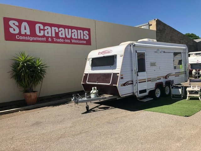 Used Traveller Hurricane 19' with Air Cond., Klemzig, 2003 Traveller Hurricane 19' with Air Cond. Caravan