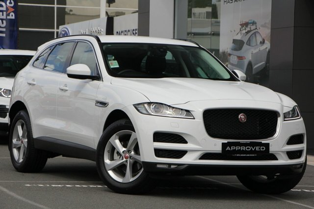 Demonstrator, Demo, Near New Jaguar F-PACE 25t AWD Prestige, Maroochydore, 2017 Jaguar F-PACE 25t AWD Prestige Wagon