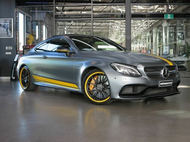 Used Mercedes-Benz C63 AMG SPEEDSHIFT MCT S, North Melbourne, 2017 Mercedes-Benz C63 AMG SPEEDSHIFT MCT S Coupe