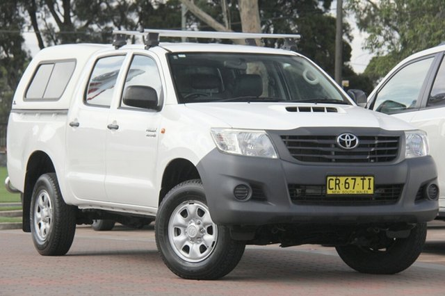 Used Toyota Hilux Workmate Double Cab, Southport, 2012 Toyota Hilux Workmate Double Cab Utility