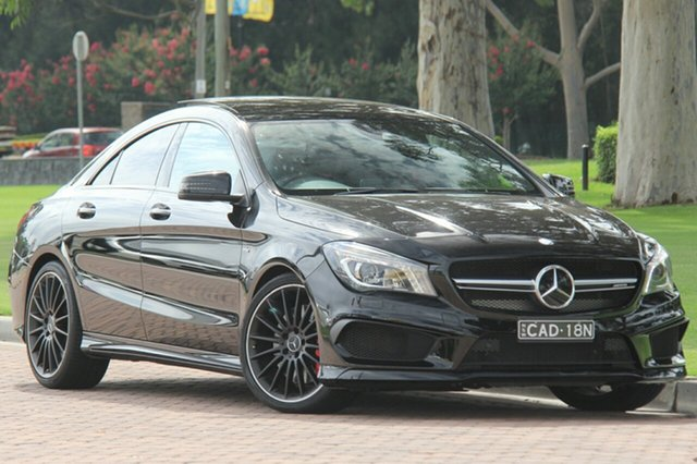Discounted Used Mercedes-Benz CLA45 AMG SPEEDSHIFT DCT 4MATIC, Warwick Farm, 2015 Mercedes-Benz CLA45 AMG SPEEDSHIFT DCT 4MATIC Coupe