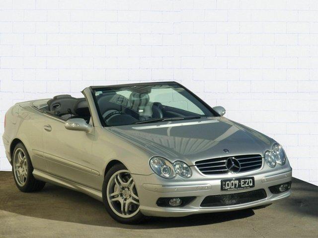 Used Mercedes-Benz CLK55 AMG Avantgarde, Moorooka, 2004 Mercedes-Benz CLK55 AMG Avantgarde Cabriolet